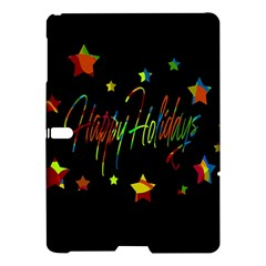Happy Holidays Samsung Galaxy Tab S (10 5 ) Hardshell Case  by Valentinaart