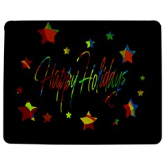 Happy Holidays Jigsaw Puzzle Photo Stand (rectangular) by Valentinaart