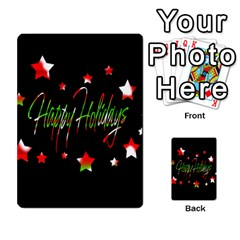 Happy Holidays 2  Multi Purpose Cards (rectangle)  by Valentinaart