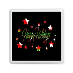 Happy Holidays 2  Memory Card Reader (square)  by Valentinaart