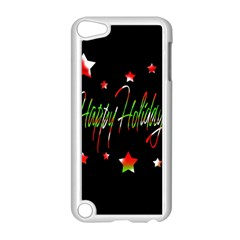 Happy Holidays 2  Apple Ipod Touch 5 Case (white) by Valentinaart