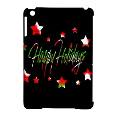 Happy Holidays 2  Apple Ipad Mini Hardshell Case (compatible With Smart Cover) by Valentinaart