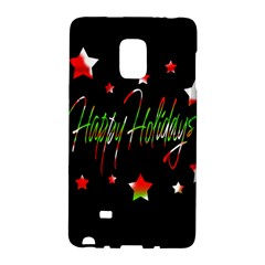 Happy Holidays 2  Galaxy Note Edge by Valentinaart