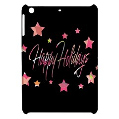 Happy Holidays 3 Apple Ipad Mini Hardshell Case by Valentinaart