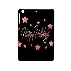 Happy Holidays 3 Ipad Mini 2 Hardshell Cases by Valentinaart