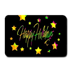 Happy Holidays 4 Plate Mats by Valentinaart