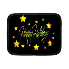 Happy Holidays 4 Netbook Case (small)  by Valentinaart