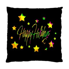 Happy Holidays 4 Standard Cushion Case (one Side) by Valentinaart