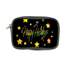 Happy Holidays 4 Coin Purse by Valentinaart