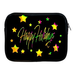 Happy Holidays 4 Apple Ipad 2/3/4 Zipper Cases by Valentinaart