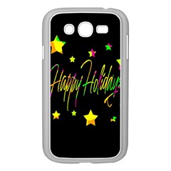 Happy Holidays 4 Samsung Galaxy Grand Duos I9082 Case (white) by Valentinaart