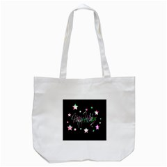Happy Holidays 5 Tote Bag (white) by Valentinaart
