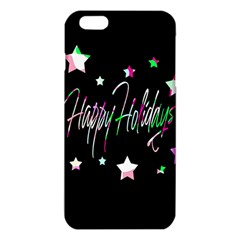 Happy Holidays 5 Iphone 6 Plus/6s Plus Tpu Case by Valentinaart