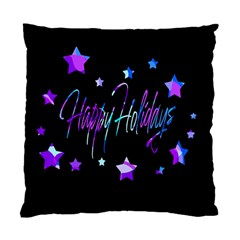 Happy Holidays 6 Standard Cushion Case (one Side) by Valentinaart