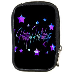 Happy Holidays 6 Compact Camera Cases by Valentinaart