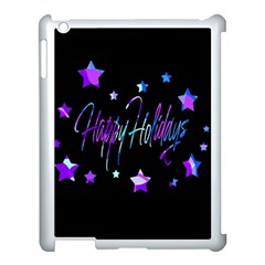 Happy Holidays 6 Apple Ipad 3/4 Case (white) by Valentinaart