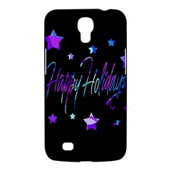 Happy Holidays 6 Samsung Galaxy Mega 6 3  I9200 Hardshell Case by Valentinaart