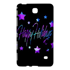 Happy Holidays 6 Samsung Galaxy Tab 4 (7 ) Hardshell Case  by Valentinaart