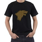 Men s T-shirt (Black) (Wic) Front