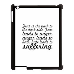 Fear Is The Path   Apple Ipad 3/4 Case (black) by awesomegraphics