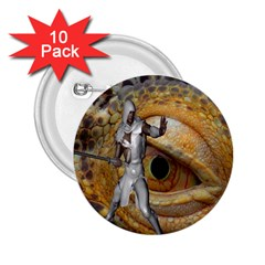 Dragon Slayer 2 25  Buttons (10 Pack)