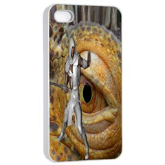 Dragon Slayer Apple Iphone 4/4s Seamless Case (white)