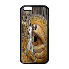 Dragon Slayer Apple Iphone 6/6s Black Enamel Case