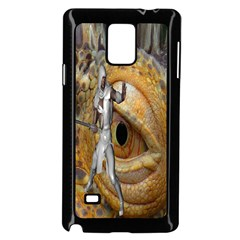 Dragon Slayer Samsung Galaxy Note 4 Case (black) by icarusismartdesigns