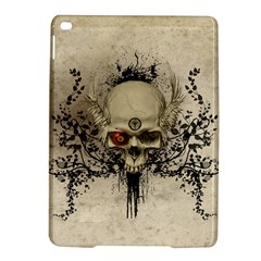 Awesome Skull With Flowers And Grunge Ipad Air 2 Hardshell Cases