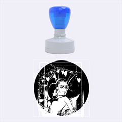 Wonderful Fairy Rubber Round Stamps (medium)