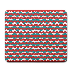 Geometric Waves Large Mousepads by dflcprints