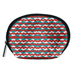Geometric Waves Accessory Pouches (medium)  by dflcprints