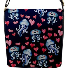 Jellyfish Love Flap Messenger Bag (s) by BubbSnugg