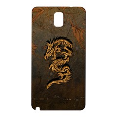 Awesome Dragon, Tribal Design Samsung Galaxy Note 3 N9005 Hardshell Back Case by FantasyWorld7