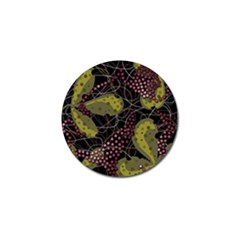 Abstract Garden Golf Ball Marker
