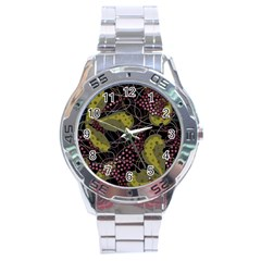 Abstract Garden Stainless Steel Analogue Watch by Valentinaart