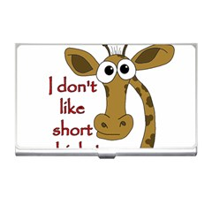Giraffe Joke Business Card Holders by Valentinaart