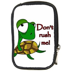 Turtle Joke Compact Camera Cases by Valentinaart