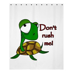 Turtle Joke Shower Curtain 60  X 72  (medium)  by Valentinaart