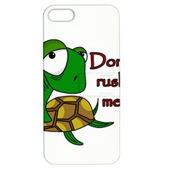 Turtle Joke Apple Iphone 5 Hardshell Case With Stand by Valentinaart