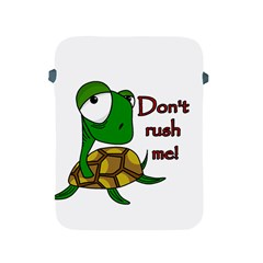 Turtle Joke Apple Ipad 2/3/4 Protective Soft Cases by Valentinaart