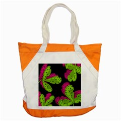 Decorative Leafs  Accent Tote Bag by Valentinaart