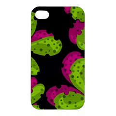 Decorative Leafs  Apple Iphone 4/4s Hardshell Case by Valentinaart