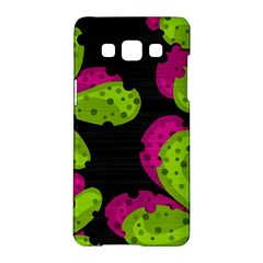 Decorative Leafs  Samsung Galaxy A5 Hardshell Case  by Valentinaart