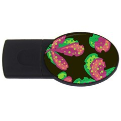Colorful Leafs Usb Flash Drive Oval (2 Gb)  by Valentinaart