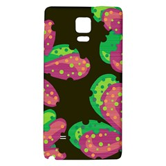 Colorful Leafs Galaxy Note 4 Back Case by Valentinaart