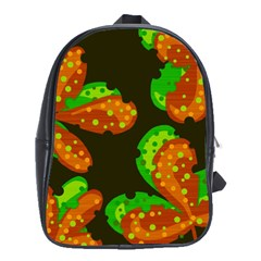 Autumn Leafs School Bags(large)  by Valentinaart