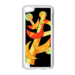 Orange Moon Tree Apple Ipod Touch 5 Case (white) by Valentinaart