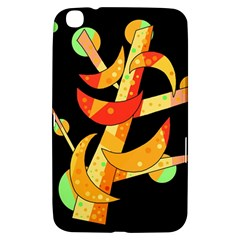 Orange Moon Tree Samsung Galaxy Tab 3 (8 ) T3100 Hardshell Case  by Valentinaart