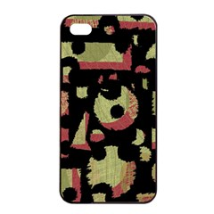 Papyrus  Apple Iphone 4/4s Seamless Case (black) by Valentinaart